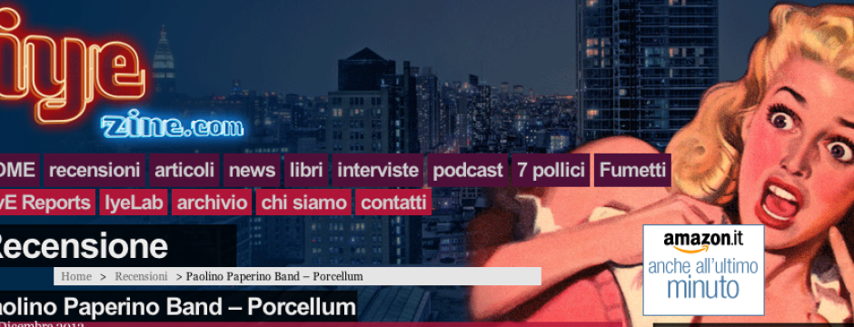 recensione iye porcellum paolino paperino band