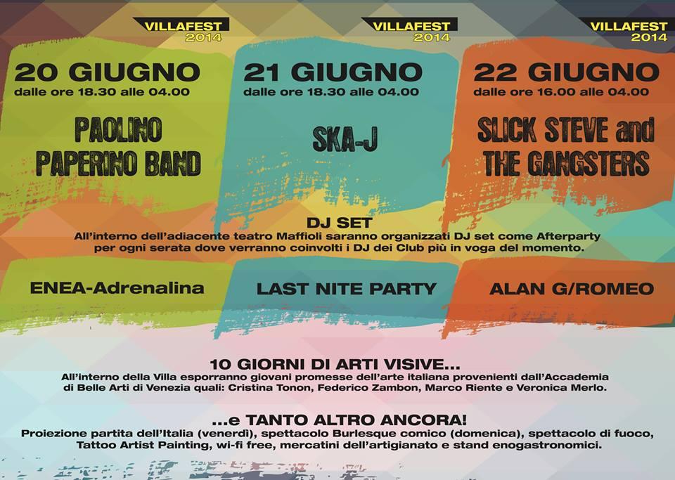 villa fest 2014