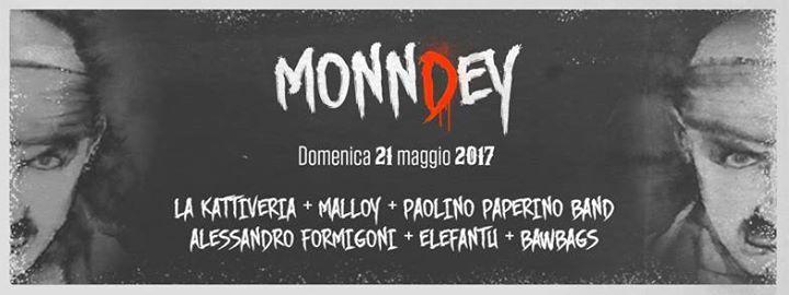 21 maggio, concerto a Poviglio (RE): Monndey