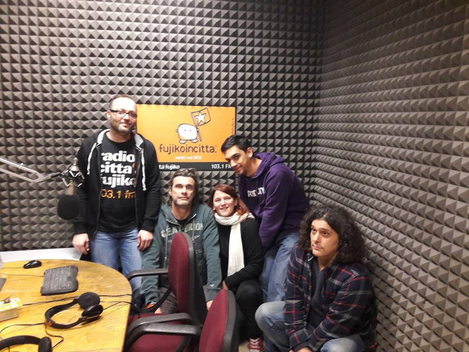 Intervista a Radio Città Fujiko (1 dicembre 2017)