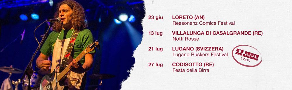i concerti di luglio 2018